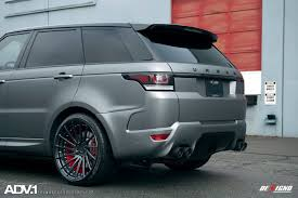 matte black range rover urban automotive range rover sport adv15r m v2 cs wheels adv 1