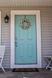 she builds her home how to choose a front door color