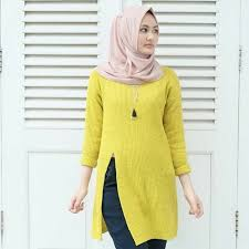 slit sweater jual slit sweater lime pickmeroom
