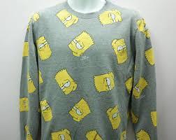 bart sweater bart sweater etsy