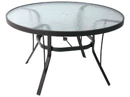 Patio Table Glass Garden Table Glass Tubular Aluminium Garden Table With Glass