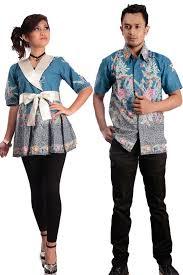 desain baju batik untuk acara resmi 13 contoh model baju batik couple dengan desain terbaik gebeet com
