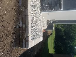 paver patio edging decorative gravel stone edging archives complete hardscapes