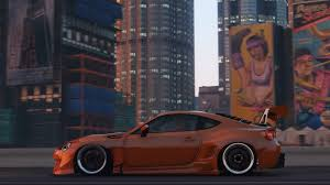 subaru brz rocket bunny v3 grand theft auto 5