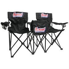 Double Seat Folding Chair Summit Racing Double Seats With Cooler Table Sum P1031 Free