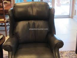 Ethan Allen Recliner Sofas Ethan Allen Colburn Leather Recliner Things Mag Sofa Chair