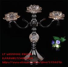 online get cheap black crystal candelabra aliexpress com