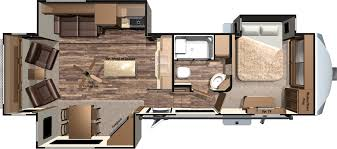 enchanting 2 bedroom 5th wheel floor plans and jay flight travel