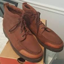 s shoes and boots size 9 land rover s casual dress lace up boots shoes brown leather