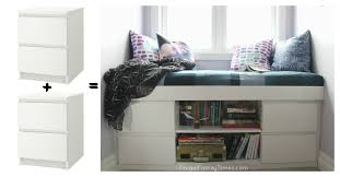 diy hack how to diy a simple built in window seat an ikea hack frugal