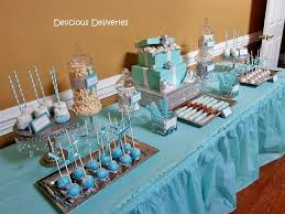 baby shower treats dessert and candy buffets