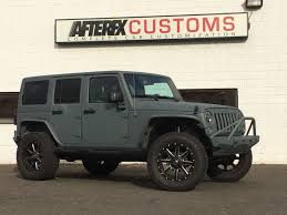 vossen jeep wrangler home page afterfx customs