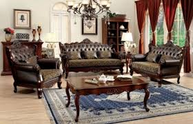 aico adele tufted living room clear with crystals by michael amini