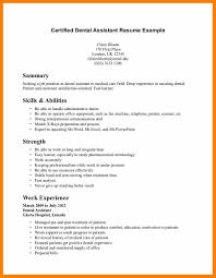 best how to write a dental assistant resume contemporary simple