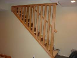 Stair Handrail Ideas Basement Stairs Railing Home Furniture And Design Ideas