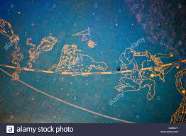 pisces aries and taurus zodiac signs and star constellations on