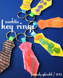 necktie key ring tutorial positively splendid crafts sewing