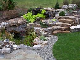 Fire Pit With Water Feature - water features swim ponds