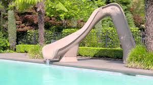 pool slides typhoon pool slide by s r smith is serious fun youtube