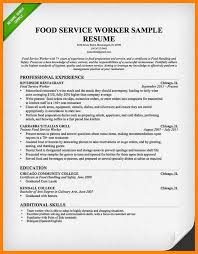sample resume restaurant server fine dining waiter resume fine