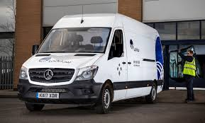 mercedes commercial mercedes benz sprinter is a u0027glass act u0027 for laddaw commercial