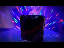 portable speaker with lights ion audio block party portable wireless speaker system with party
