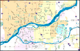 iowa map with cities illinois aaroads interstate 74 east cities