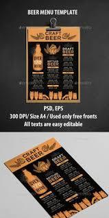 bar menu flyer bi fold menu template nice the o u0027jays and photos