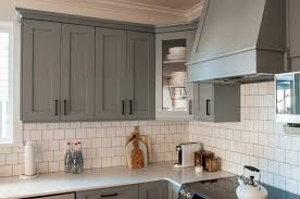 kitchen classy backsplash for gray cabinets dark gray kitchen