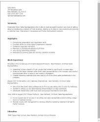 Sales And Marketing Resume Examples by Professional Direct Sales Representative Templates To Showcase