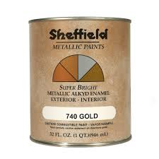 sheffield super bright gold metallic boat lettering paint