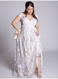size country wedding dresses