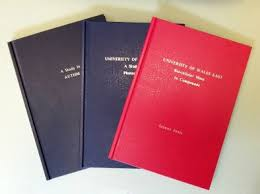 Home  Thesis and Dissertation binding