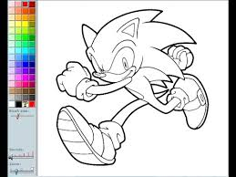 coloring pages sonic sonic the hedgehog coloring pages for kids sonic the hedgehog