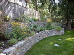 armour stone retaining wall cost charming plans free home security