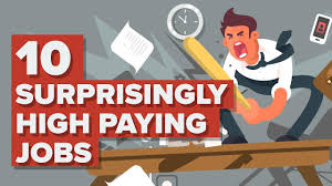 10 Highest Paid Jobs You 10 Surprisingly High Paying Jobs Youtube