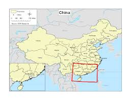 Dongguan China Map by First Readings 2011 Factory Girls