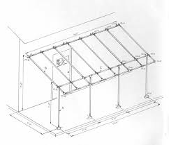 A Frame Awning Awning Frame Using Kee Klamp Fittings Simplified Building