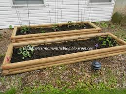 Retaining Wall Garden Bed by Diy Raised Garden Boxes These Planters Are Easy To Make Out Of