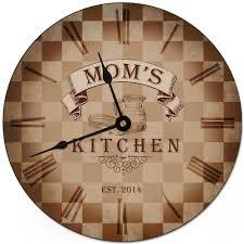kitchen personalized wall clock