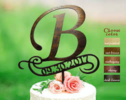 b cake topper letter r cake topper rustic cake toppers for wedding date