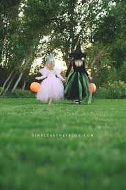 wizard of oz wicked witch child costume diy glinda and wicked witch of the west halloween costumes
