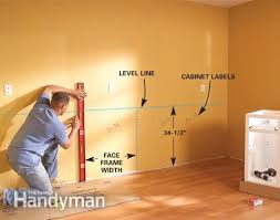 How To Mount Cabinets Kitchen Kitchen Cabinet And Pleasing How To Install Kitchen