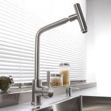plomberie robinet cuisine sus 304 en acier inoxydable rotatif cuisine moderne robinet