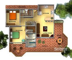 2 bedroom condo floor plans san buenas golf resort and spa
