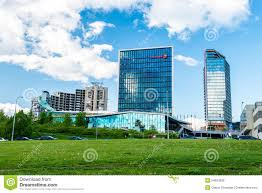 vilnius modern buildings editorial stock photo image 54651838