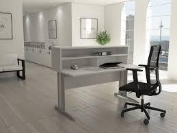bureau d acceuil bureaux d accueil en bois blanc achat bureaux d accueil en bois