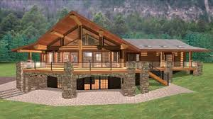 cabin plans with loft log cabin house plans with a loft youtube