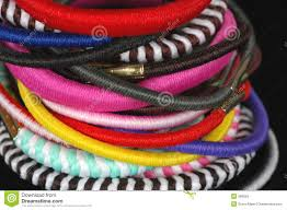 hair scrunchies hair scrunchies royalty free stock images image 568559