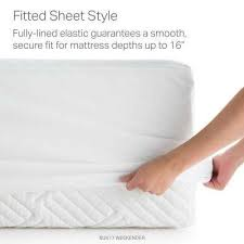 full size mattress pad soft plush fitted pillow top bed mattress pillow protectors bedding the home depot